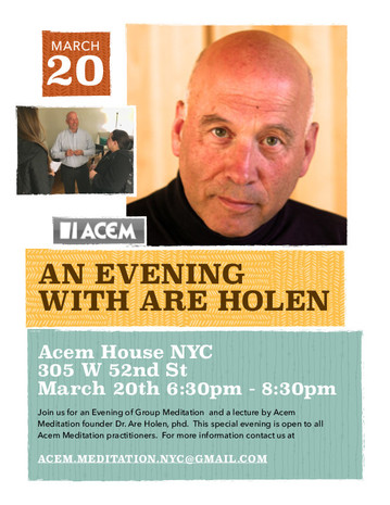 An evening with Are Holen